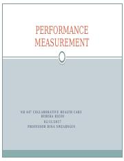 NR447 PERFORMANCE MEASUREMENT_RIZZO