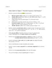 Study Guide, Chapter 07 - 13ed