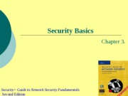 Ch03 - Security Basics
