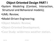 OODesign Lecture PART I