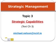 3. Strategic Capability (1)