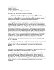 ups case study questions