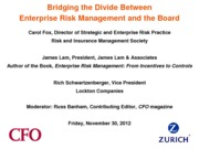 ERMCFOslide_deck_zurich_sponsored_webcast_with_cfo_publishing_11_30_12