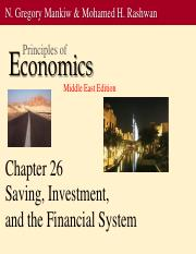 ch26ppt saving and investment