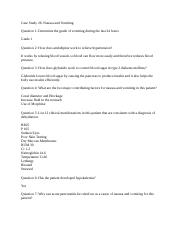 Case Study 26- Nausea and Vomiting .docx