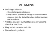 PP9 Fat Soluble Vitamins