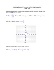 rational functions answers