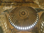 The Byzantine Empire & Christianity Powerpoint