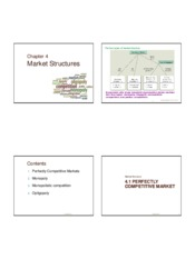 Microeconomics 2- Chapter 4- Market Structures