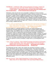 Annotated Bibliography BUSI 512
