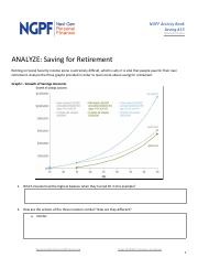 Ngpf Income 13 Activity Spanish Bank retirement Security for On Retiring - Saving saving pdf Social Version Analyze 13 Saving For Analyze- Retirement