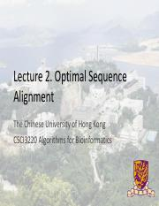 CSCI3220_2016Fall_02_OptimalSequenceAlignment