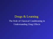 Drugs_Classical_Conditioning