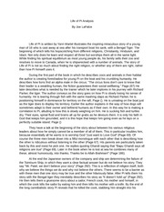 of pi essays life quotes from life of pi quotes from life of pi life ...