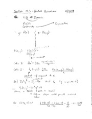 Lecture 28 (Student Y)