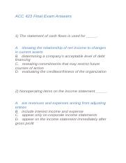 ACC 423 Final Exam Answers.docx