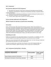 Unit1_Assignment_Instructions_and_Grading_Rubric