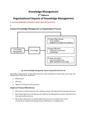 Knowledge Management - Second Mid - Note