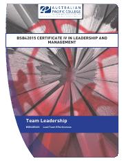 1584_Team_Leadership_Work Book Lect