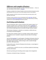 Examples of Business Notes