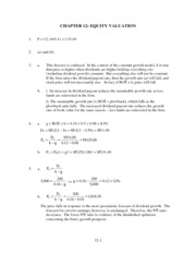 Chapter012-chapter end problem sets