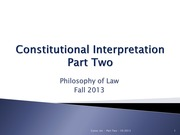 Constitutional+Interpretation-+PART+TWO-+Fall+2013 (1)