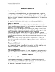 osmotic pressure lab report Lab 7: osmotic pressure background and protocol in this lab, you will learn about the effect of salt concentration on the growth of bacteria bacteria grow under different salt conditions.