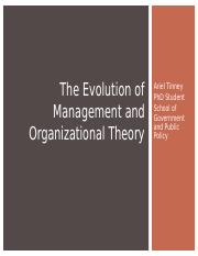 7_Organizational Theory Fall 2016.ppt
