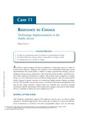 Cases_and_Exercises_in_Organization_Development__..._----_(Case_11_-_Resistance_to_Change_Technology