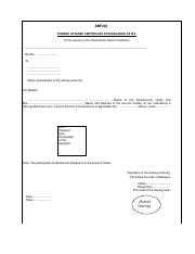 App4 anf2i format of bank certificate for issuance of iecto be app4 anf2i format of bank certificate for issuance of iecto be issued on the official letter head of the bank ref no toname and address of the yelopaper Gallery