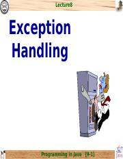 chap8_Exception Handling.ppt