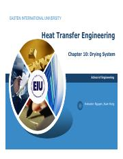 Chapter 10 Drying System