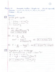 Chapter 24  - Homework Solutions