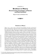 Brothers in Misery Reconnecting Sociologies of Racism and Antisemitism.pdf