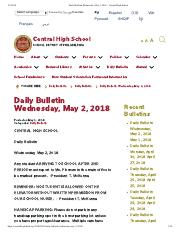 Daily Bulletin Wednesday, May 2, 2018 – Central High School.pdf