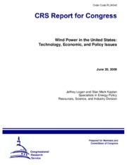 Congress Report - Wind Power in the US