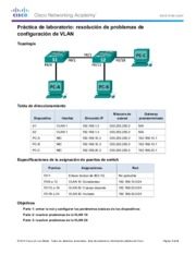 3.2.4.9 Lab - Troubleshooting VLAN Configurations
