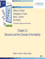 Ch 21 Benzene and tgthe concept of Aromaticity.ppt