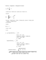 Solutions-Assign1