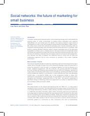 social networks the future of marketing for small business.pdf