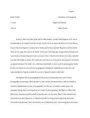 leadership animal farm essay