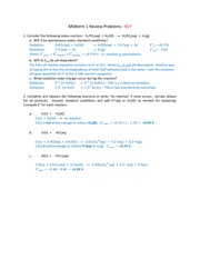 Midterm 1 Practice Problems_KEY