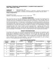 BUS6007_Strategic Management_ and Competition Analysis_Syllabus.doc