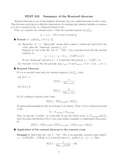Notes on the Renewal Theorem
