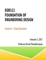 EGB111 Lecture 4