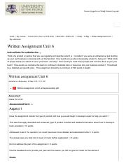 Written Assignment Unit 6.pdf