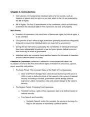 Honors Gov Chapter 4 Notes