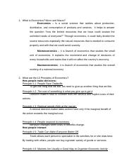 ECONOMICS - Assignment 1 Principles of Eco..docx