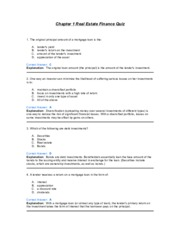 Chapter 1 Real Estate Finance Quiz.pdf