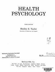 Health Psychology Biopsychosocial Interactions Pdf